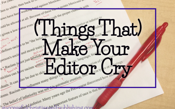 Make Your Editor Cry:  Belief (Awkward Plural)
