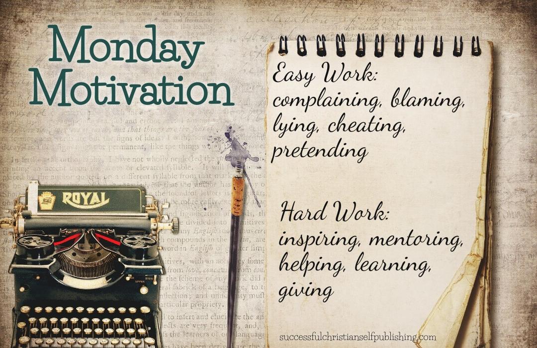 Monday Morning Motivation 4/19/21