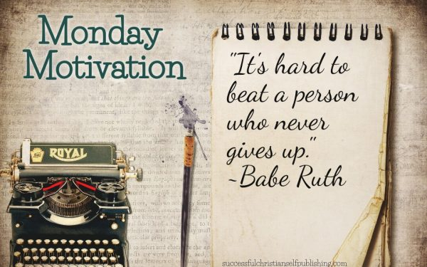 Monday Morning Motivation 4/26/21