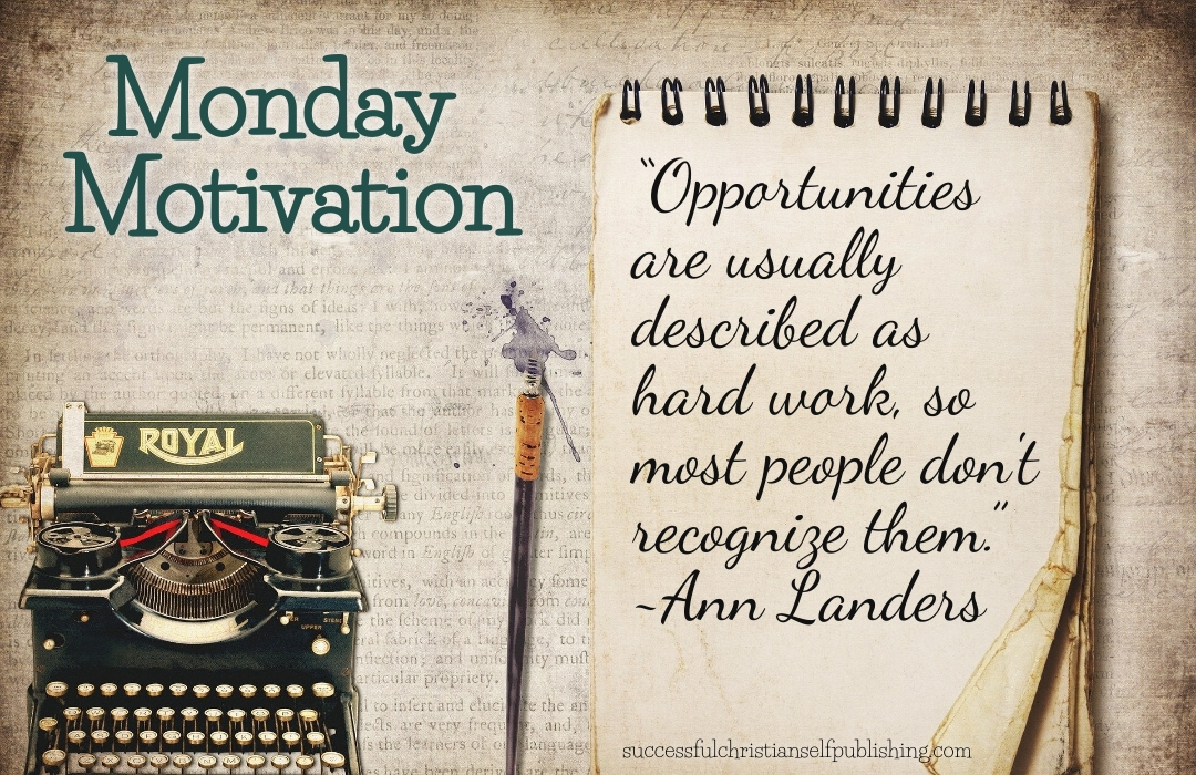 Monday Morning Motivation 10/4/21